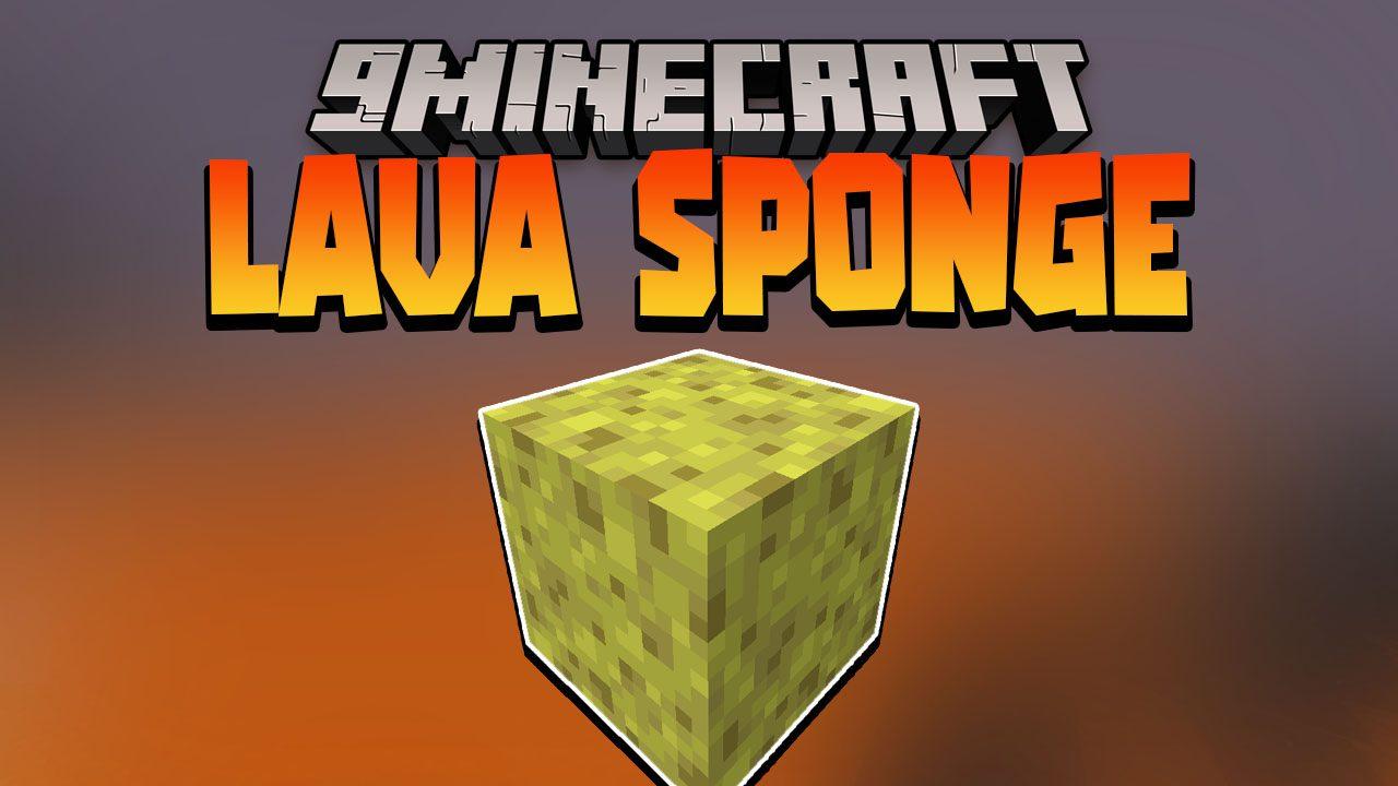 Lava Sponge Data Pack Thumbnail