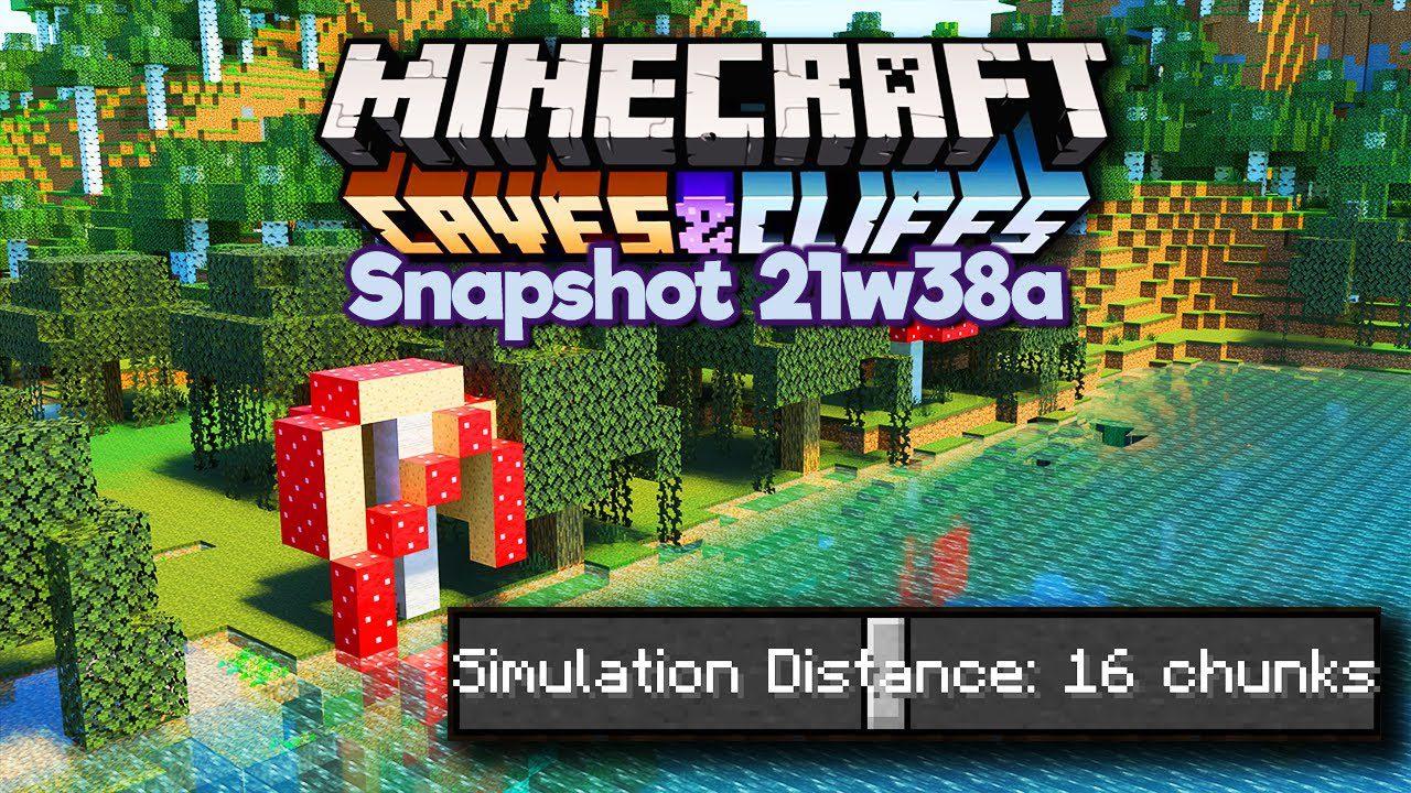 Minecraft 1.18 Snapshot 21w38a