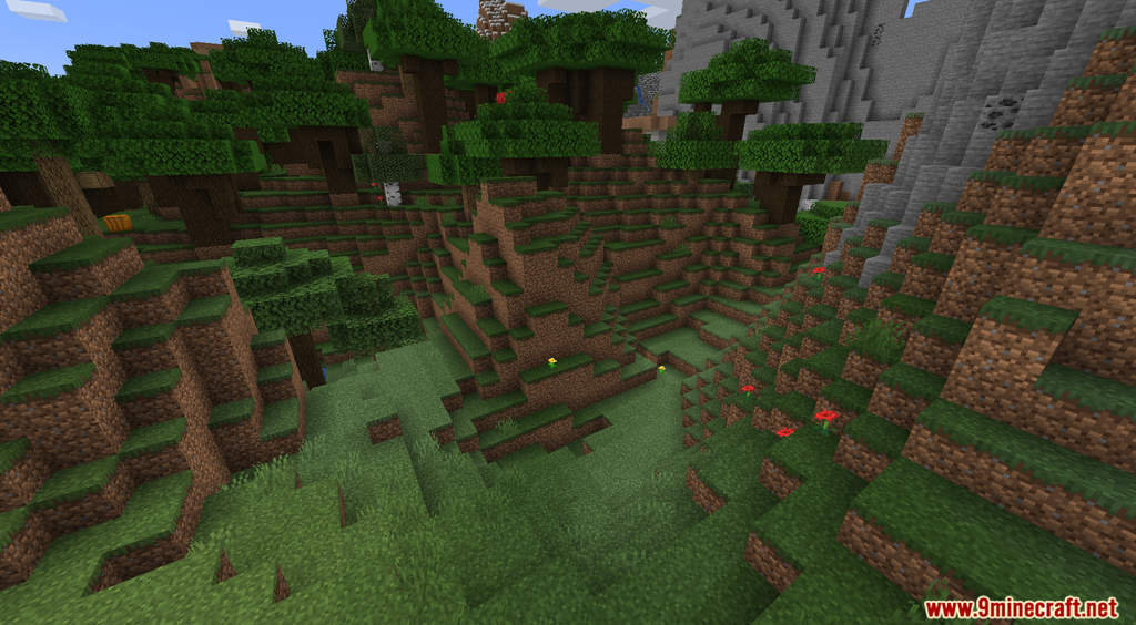 Minecraft But Dirt Drops OP Loot Data Pack Screenshots (2)