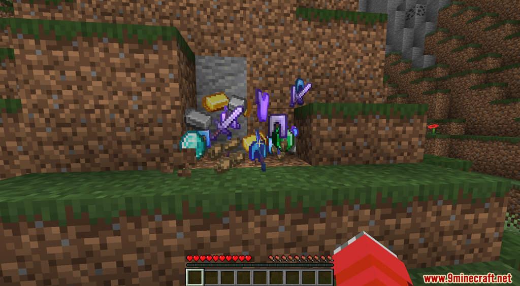 Minecraft But Dirt Drops OP Loot Data Pack Screenshots (4)