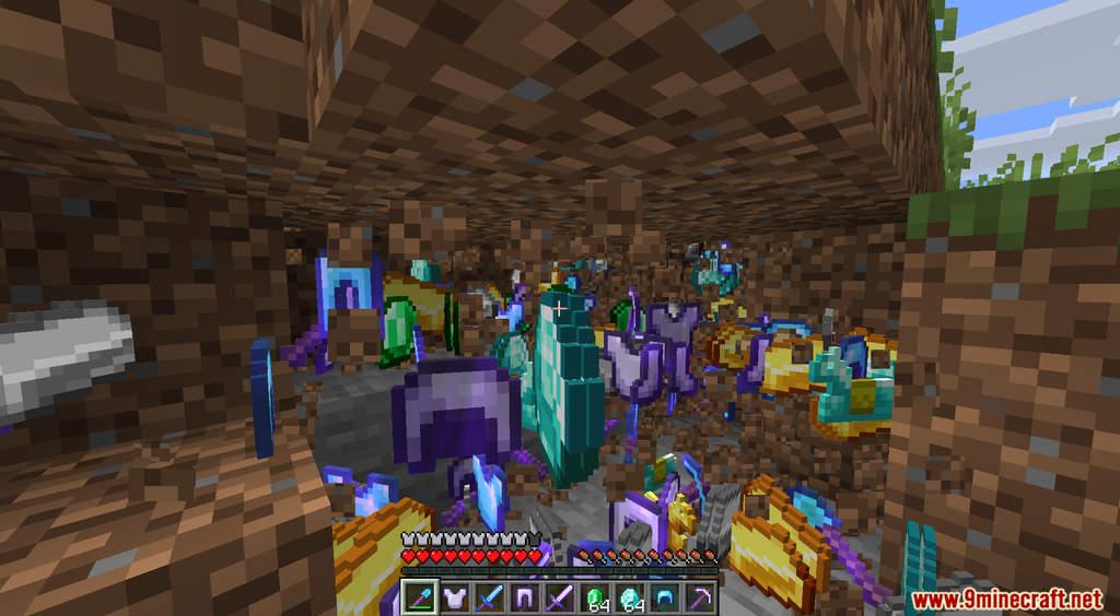 Minecraft But Dirt Drops OP Loot Data Pack Screenshots (6)