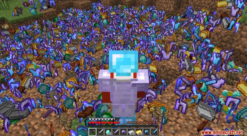 Minecraft But Dirt Drops OP Loot Data Pack Screenshots (8)