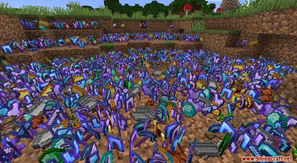 Minecraft But Dirt Drops OP Loot Data Pack Screenshots (9)