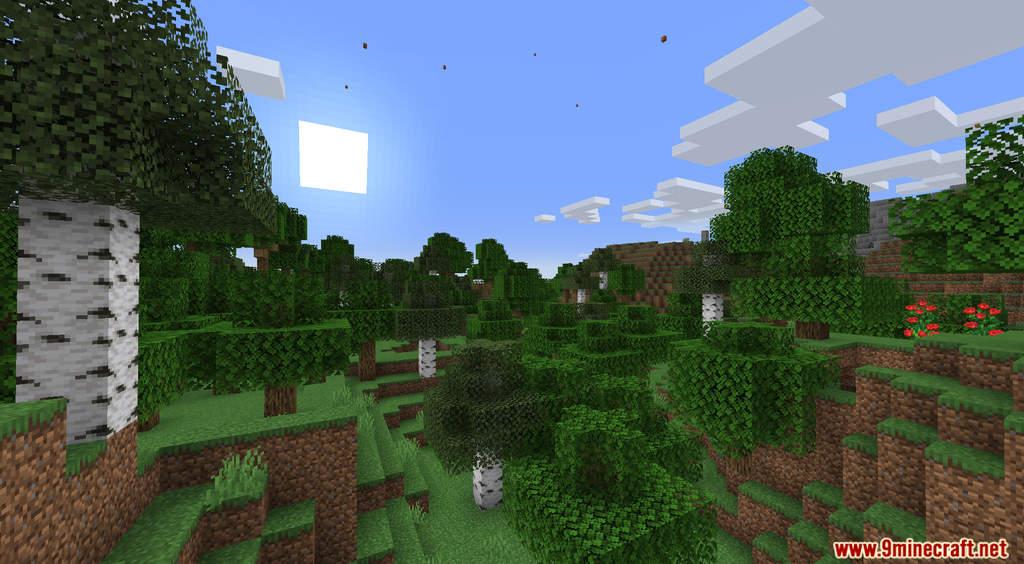 Minecraft But It's Raining Random Blocks Data Pack Screenshots (1)