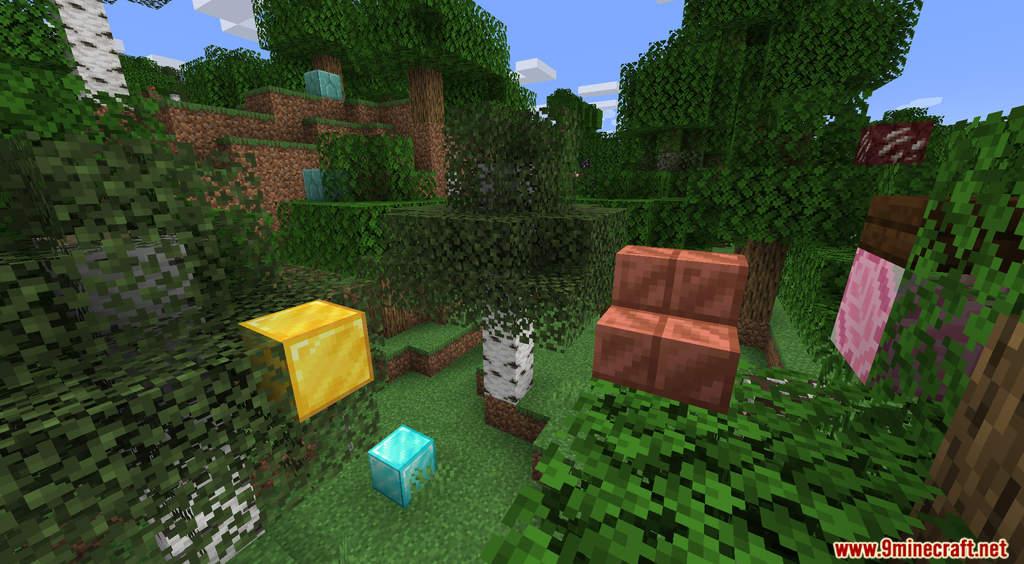 Minecraft But It's Raining Random Blocks Data Pack Screenshots (2)