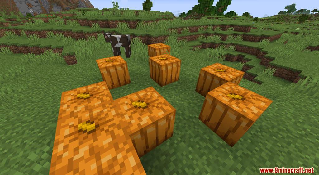 Minecraft But Pumpkin Drops OP Items Data Pack Screenshots (2)
