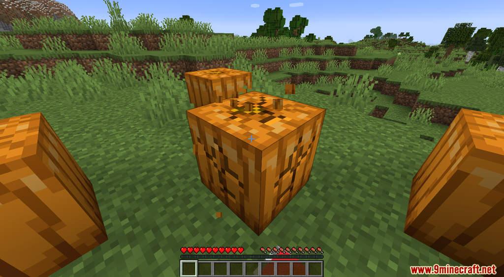 Minecraft But Pumpkin Drops OP Items Data Pack Screenshots (3)