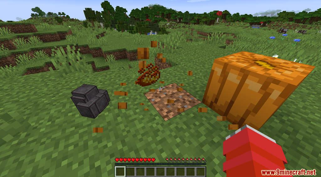 Minecraft But Pumpkin Drops OP Items Data Pack Screenshots (4)