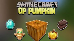 Minecraft But Pumpkin Drops OP Items Data Pack Thumbnail