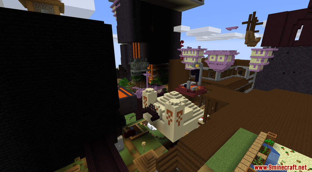 Minecraft But Random Structures Spawn Every Minute Data Pack Screenshots (10)