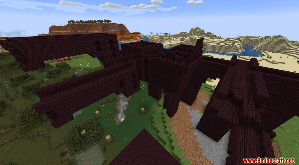 Minecraft But Random Structures Spawn Every Minute Data Pack Screenshots (2)
