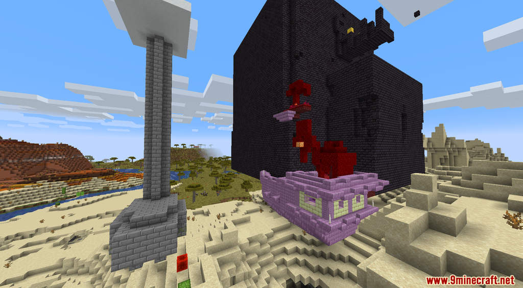 Minecraft But Random Structures Spawn Every Minute Data Pack Screenshots (3)