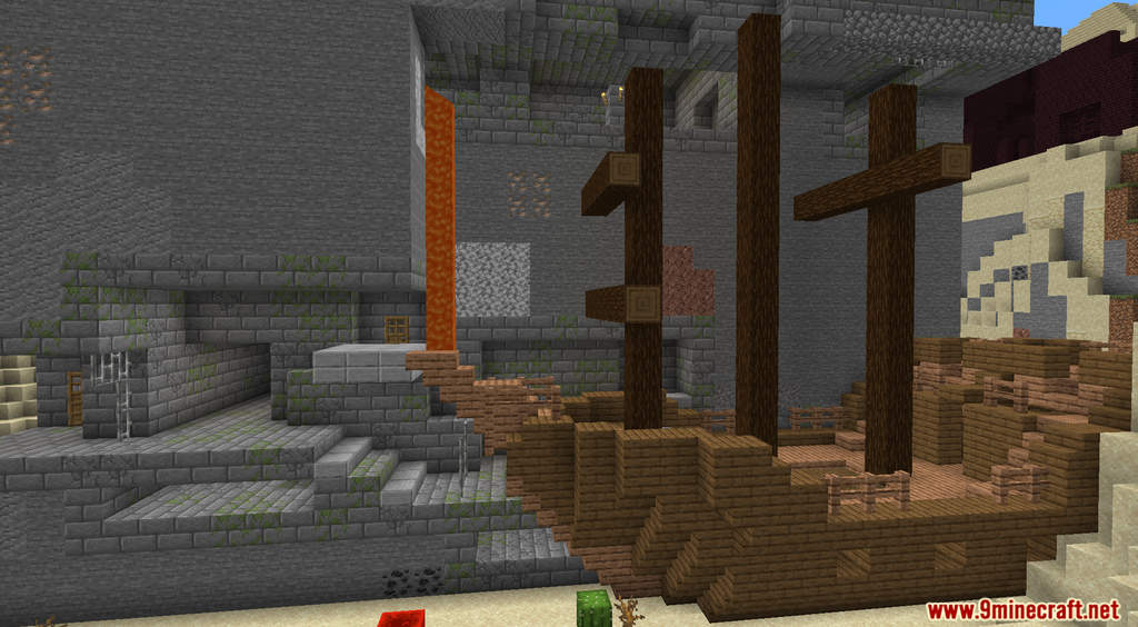 Minecraft But Random Structures Spawn Every Minute Data Pack Screenshots (4)