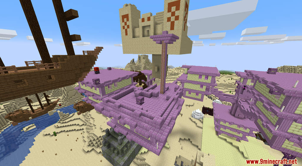 Minecraft But Random Structures Spawn Every Minute Data Pack Screenshots (5)