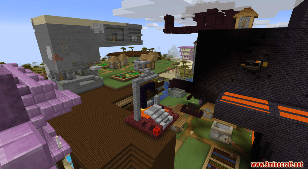 Minecraft But Random Structures Spawn Every Minute Data Pack Screenshots (9)