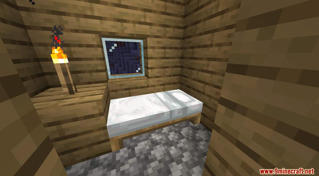 Minecraft But Sleeping Drops OP Loot Data Pack Screenshots (3)