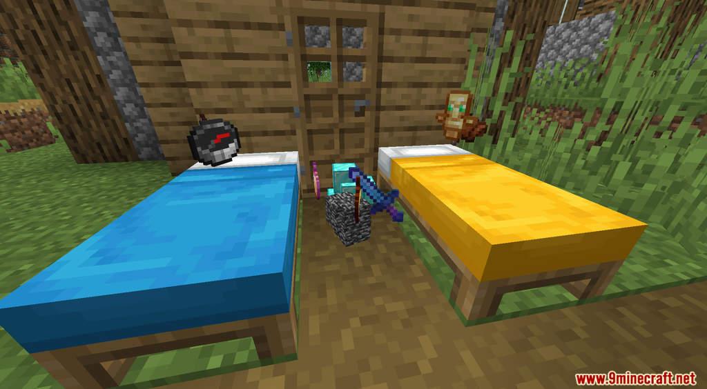 Minecraft But Sleeping Drops OP Loot Data Pack Screenshots (8)
