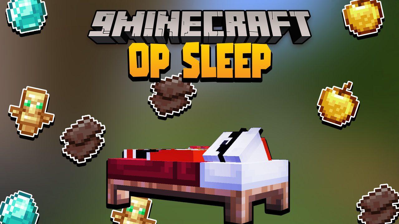 Minecraft But Sleeping Drops OP Loot Data Pack Thumbnail