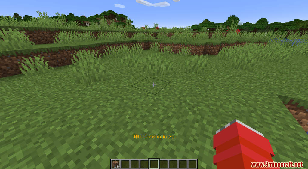 Minecraft But TNT Spawns Every Minute Data Pack Screenshots (4)