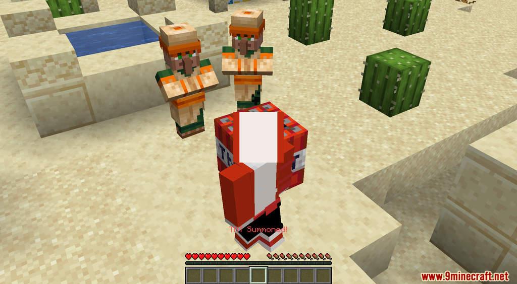 Minecraft But TNT Spawns Every Minute Data Pack Screenshots (8)