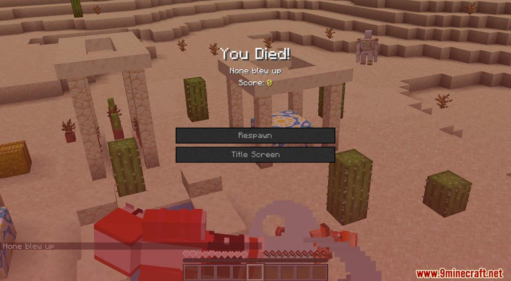 Minecraft But TNT Spawns Every Minute Data Pack Screenshots (9)