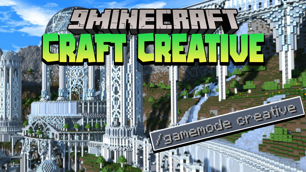 Minecraft But You Can Craft Creative Mode Data Pack Thumbnail