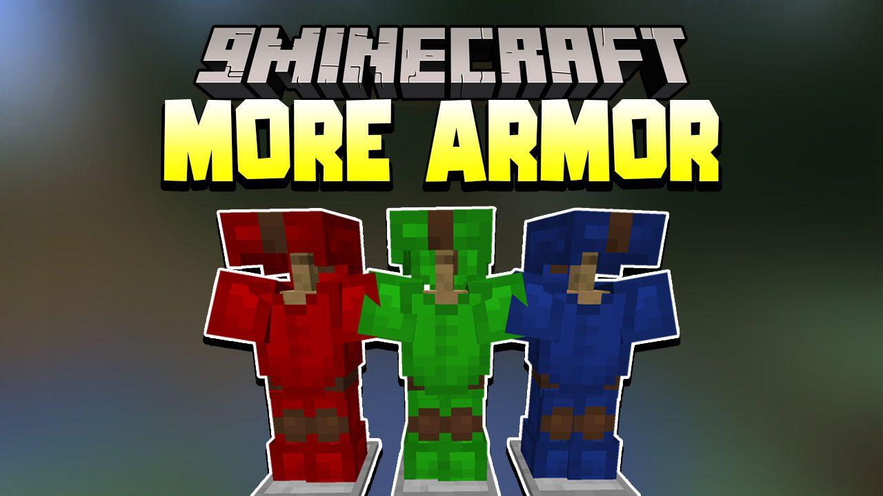 More Armor Data Pack Thumbnail
