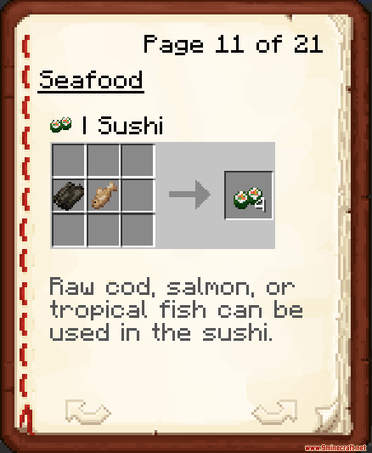 More Foods Data Pack Crafting Recipes (3)