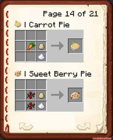More Foods Data Pack Crafting Recipes (4)