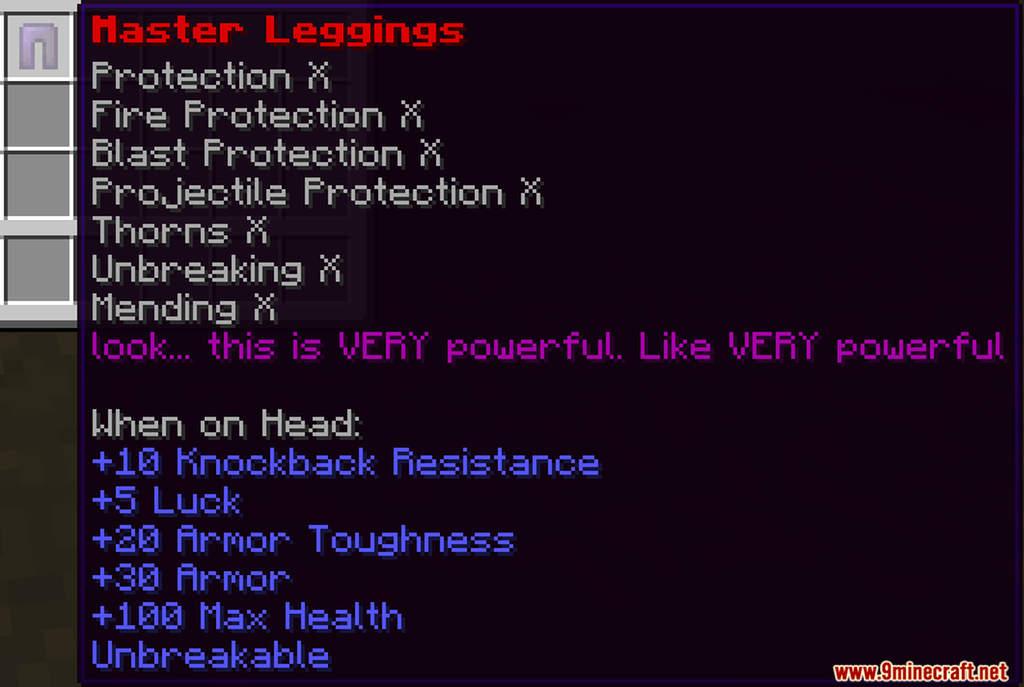 OP Armour Data Pack Screenshots (3)