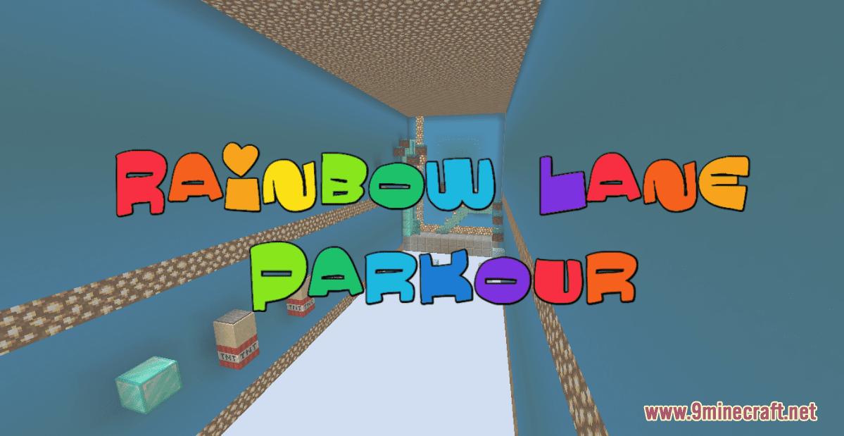Rainbow Lane Parkour Map