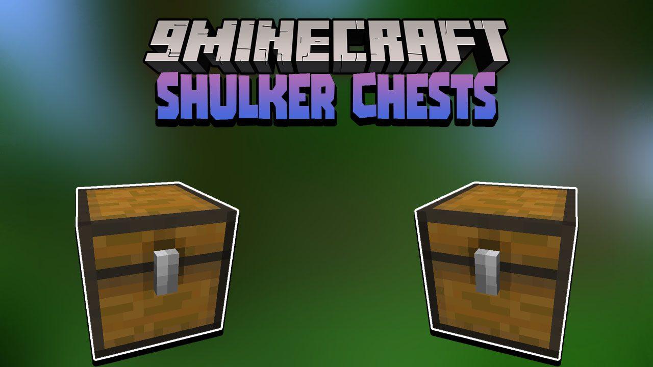 Shulker Chests Data Pack Thumbnail