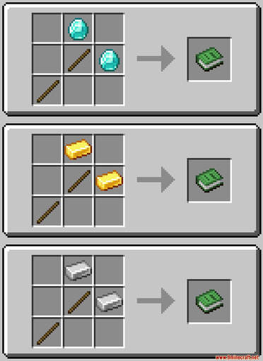 SkyHammers Data Pack Crafting Recipes (1)