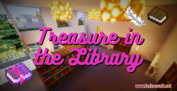 Treasure in the Library Map