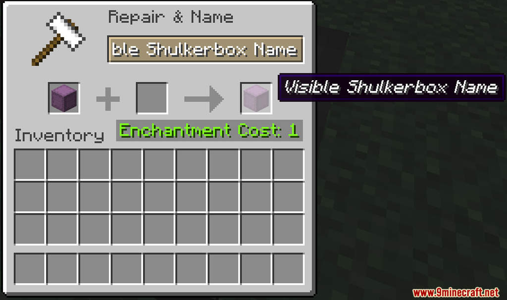 Visible Shulkerbox Name Data Pack Screenshots (1)