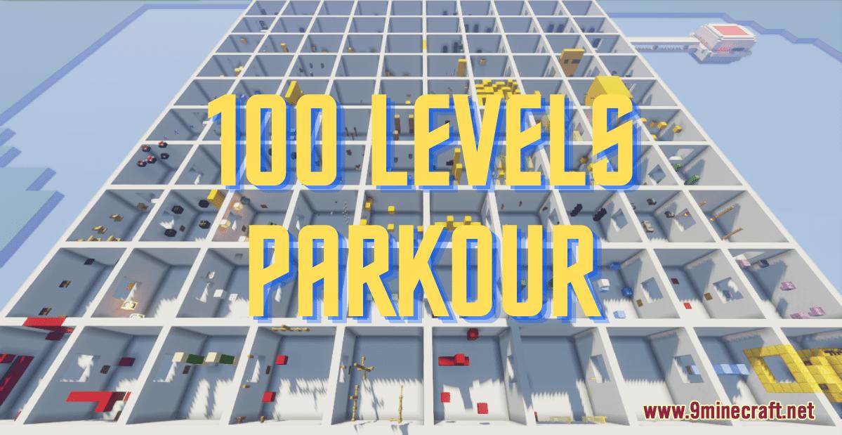 100 Levels Parkour Map