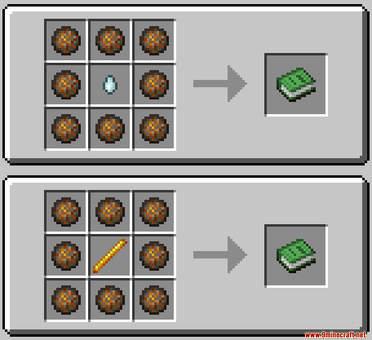 Fireball Data Pack Crafting Recipes (2)