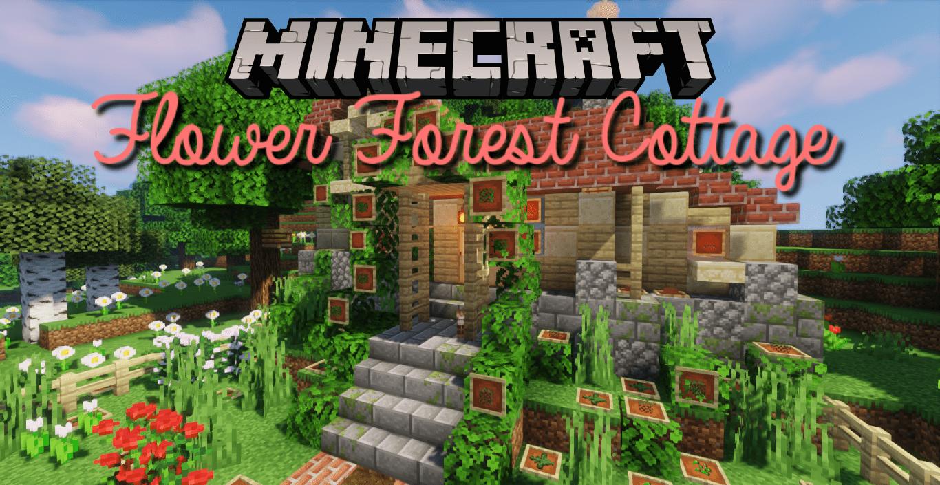 Flower Forest Cottage Map