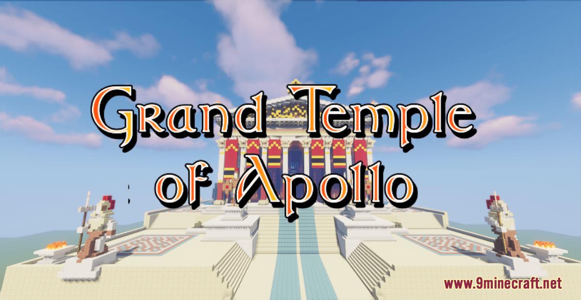 Greek Grand Temple of Apollo Map