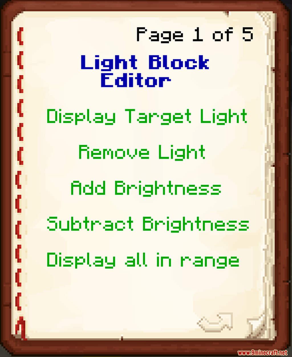 Light Block Editor Data Pack Screenshots (2)