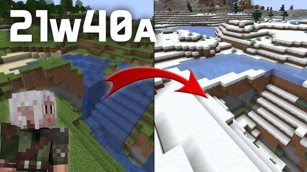 Minecraft 1.18 Snapshot 21w40a