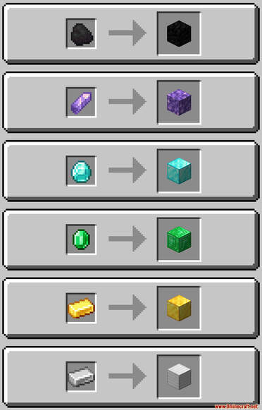 Minecraft But Cut Ores To Block Data Pack Crafting Recipes (1)