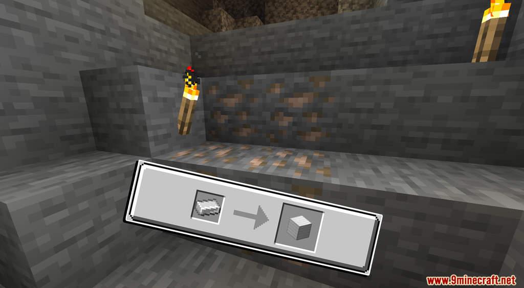 Minecraft But Cut Ores To Block Data Pack Screenshots (3)