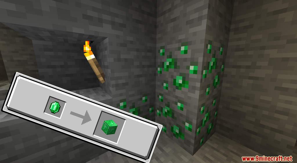 Minecraft But Cut Ores To Block Data Pack Screenshots (5)