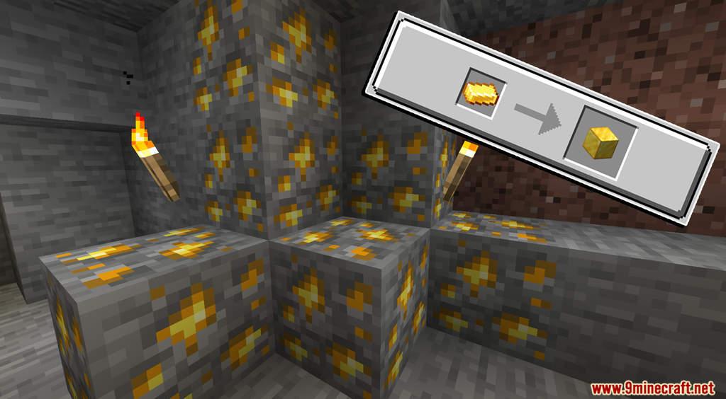 Minecraft But Cut Ores To Block Data Pack Screenshots (6)