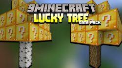 Minecraft But Trees Grow Lucky Block Data Pack Thumbnail