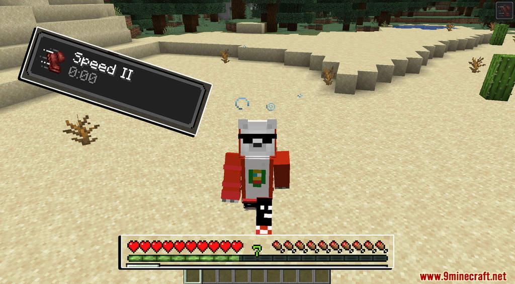 Minecraft But XP Equals Speed Data Pack Screenshots (3)
