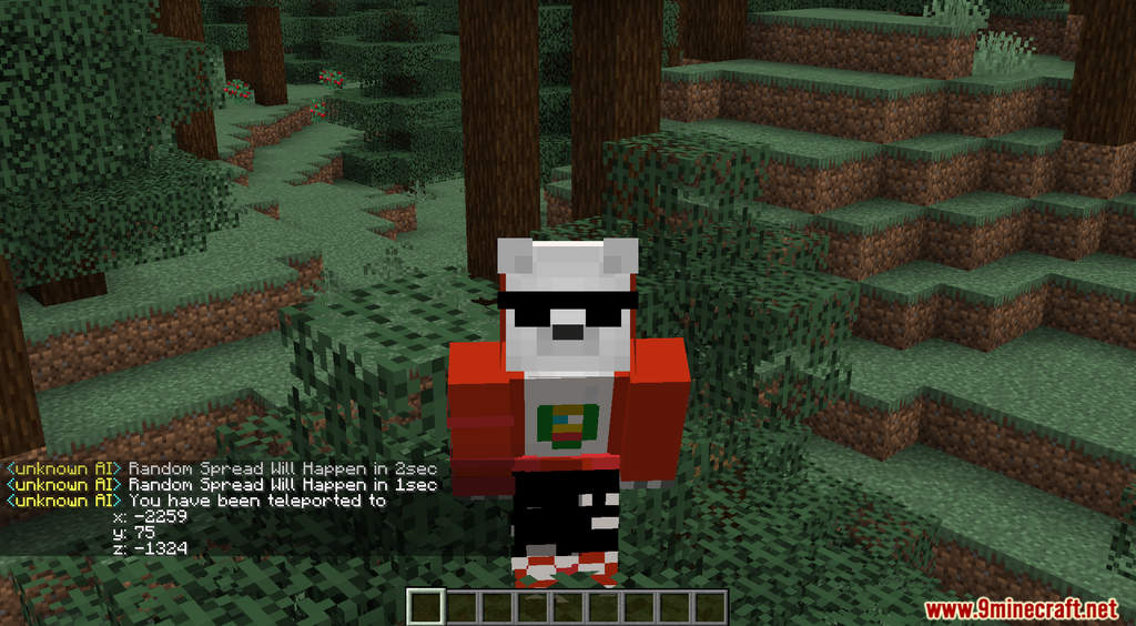 Minecraft But You Are Randomly Teleported Every 60 Seconds Data Pack Screenshots (5)