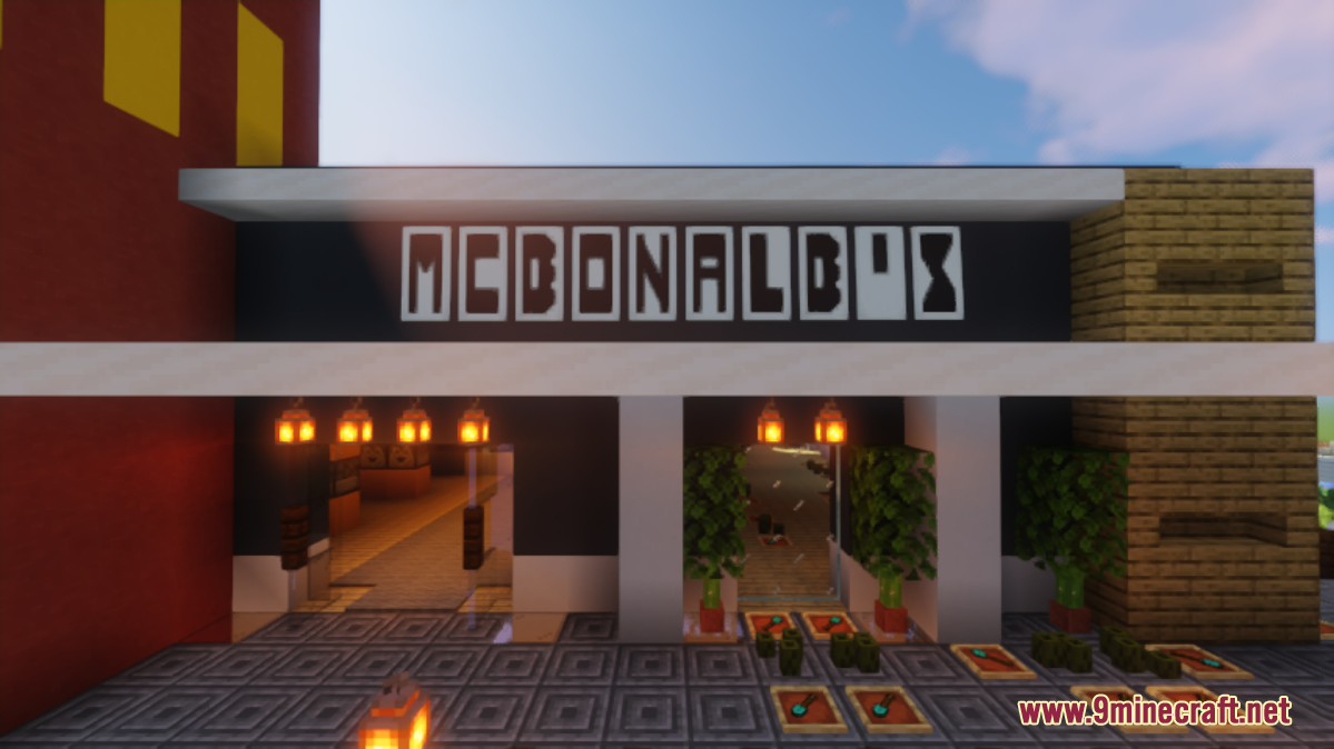 Modern McDonald's Screenshots (4)