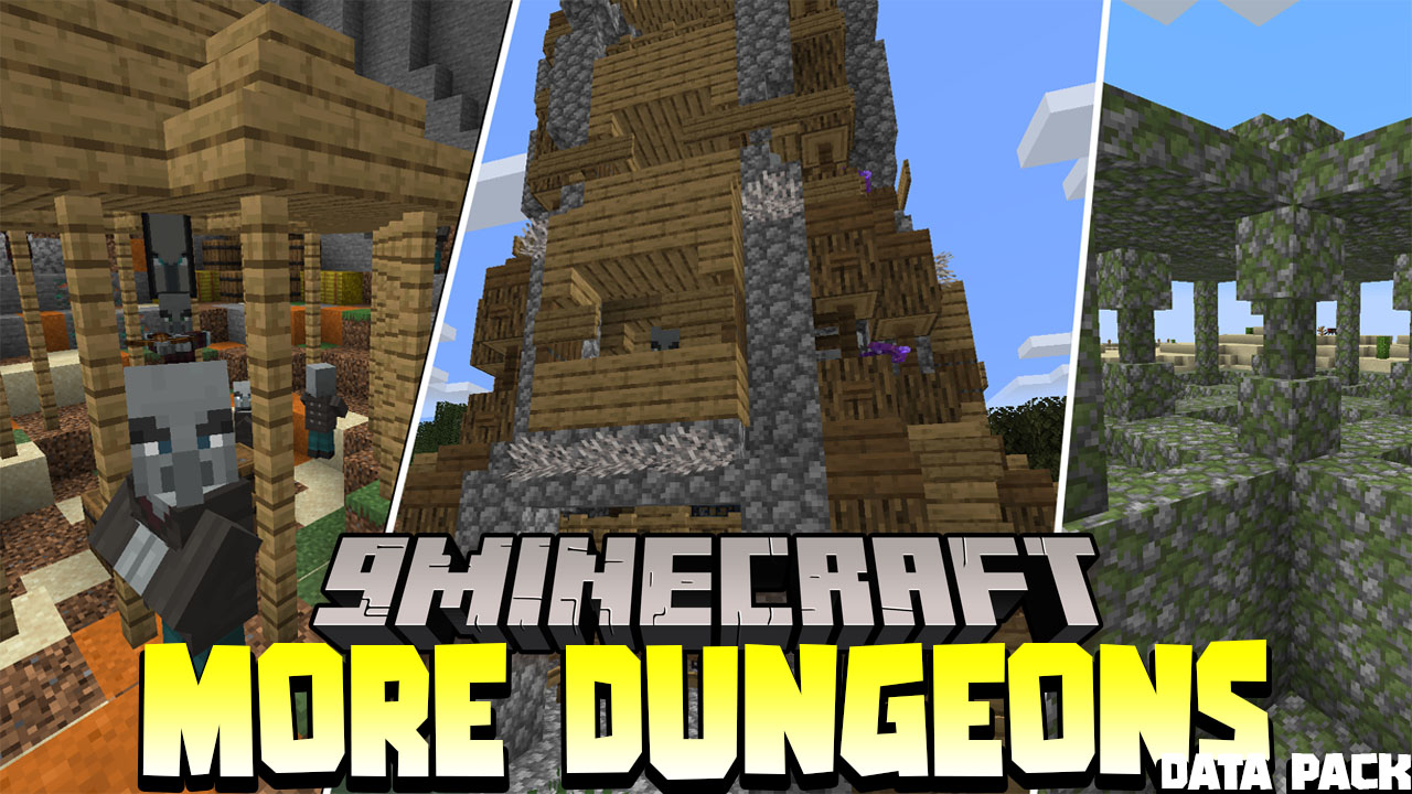 More Dungeons Data Pack Thumbnail